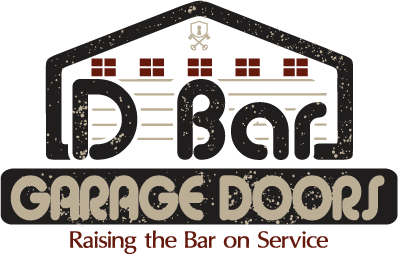 DBar Garage Door Retina Logo