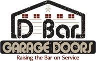 DBar Garage Door Logo