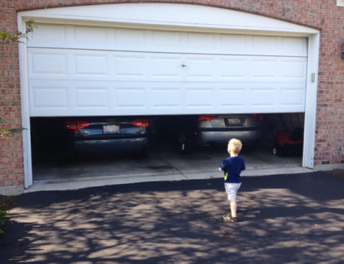 5 tips for keeping children safe near garage doors