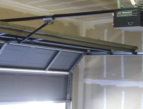 Different things to try when your garage door is stuck