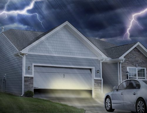How to open your garage door when there is a power outage